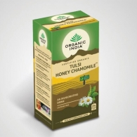 Чай Тулси с мёдом и ромашкой Органик Индия (Tulsi Honey Chamomile Organic India), 25 пак.